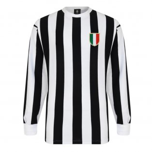 f56808376 Score Draw Juventus 1952 Retro Football Shirt
