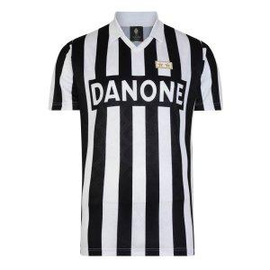 Score Draw Juventus 1993 UEFA Cup Final Retro Football Shirt