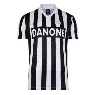1384103b66c Score Draw Juventus 1993 UEFA Cup Final Retro Football Shirt
