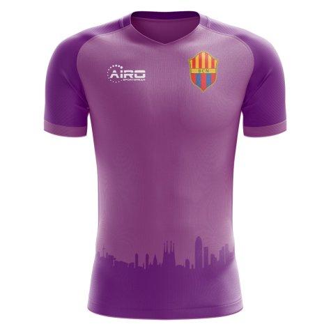 2020-2021 Barcelona Third Concept Football Shirt