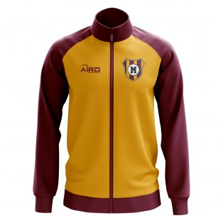 Motherwell Concept Football Track Jacket (Amber)