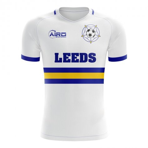 2020-2021 Leeds Home Concept Football Shirt - Little Boys