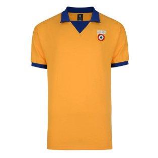 63b1a0328 Score Draw Juventus 1984 ECWC Away Retro Football Shirt