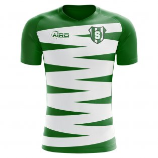 2020-2021 Sporting Lisbon Home Concept Football Shirt