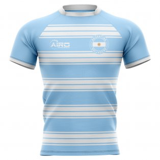 2019-2020 Argentina Home Concept Rugby Shirt - Little Boys
