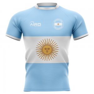 2019-2020 Argentina Flag Concept Rugby Shirt