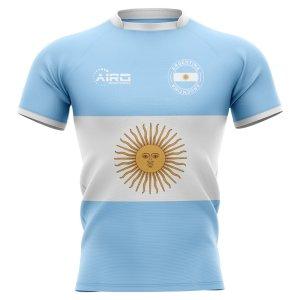 2020-2021 Argentina Flag Concept Rugby Shirt - Kids