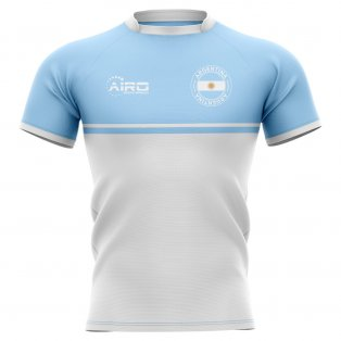 2020-2021 Argentina Training Concept Rugby Shirt