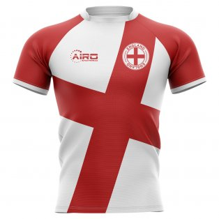 2020-2021 England Flag Concept Rugby Shirt - Little Boys