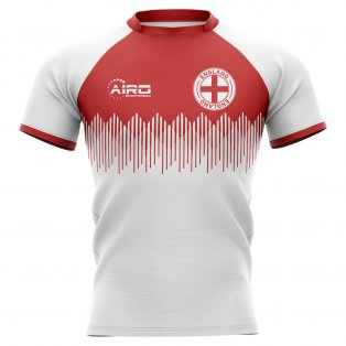 2020-2021 England Home Concept Rugby Shirt - Little Boys