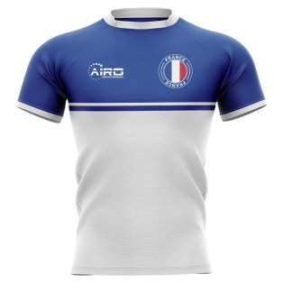 2019-2020 France Training Concept Rugby Shirt - Womens