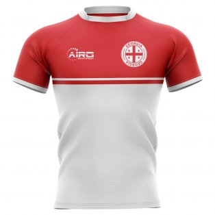 2019-2020 Georgia Training Concept Rugby Shirt