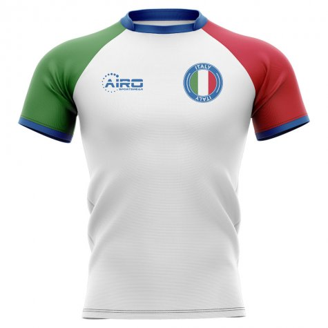 2020-2021 Italy Flag Concept Rugby Shirt - Little Boys