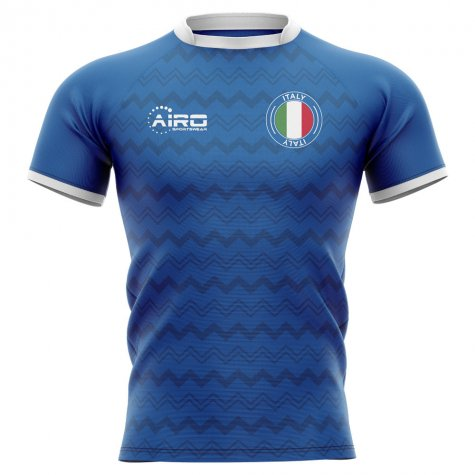 2020-2021 Italy Home Concept Rugby Shirt