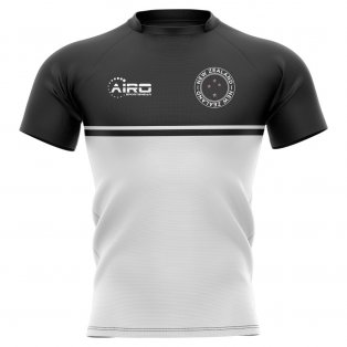 2019-2020 New Zealand Training Concept Rugby Shirt