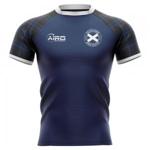 2019-2020 Scotland Home Concept Rugby Shirt - Little Boys