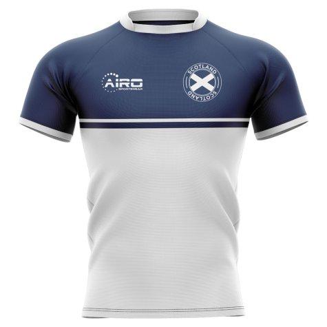 2020-2021 Scotland Training Concept Rugby Shirt