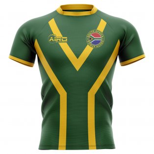 2020-2021 South Africa Springboks Flag Concept Rugby Shirt