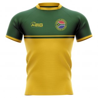 2019-2020 South Africa Springboks Training Concept Rugby Shirt