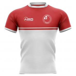 2019-2020 Tonga Training Concept Rugby Shirt