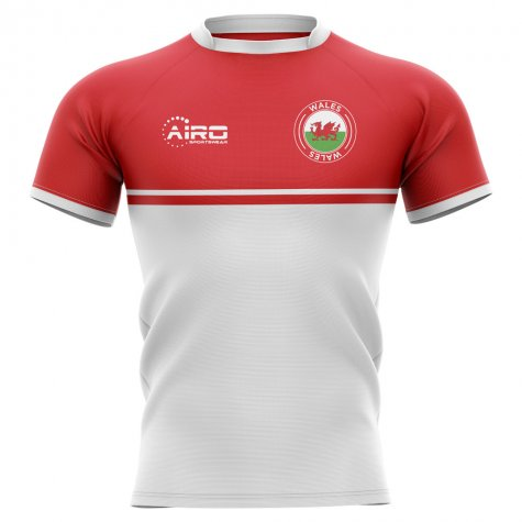 2020-2021 Wales Training Concept Rugby Shirt