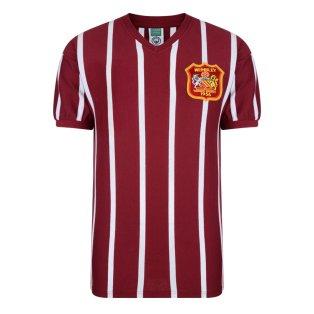 Score Draw Manchester City 1956 FA Cup Final Retro Football Shirt
