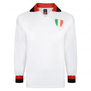 Score Draw Ac Milan 1963 European Cup Final Retro Football Shirt