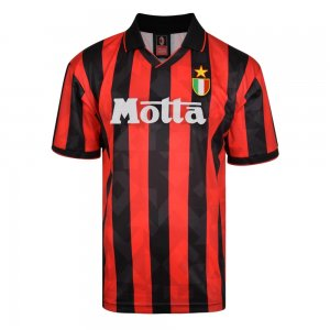 Score Draw AC Milan 1994 Retro Football Shirt