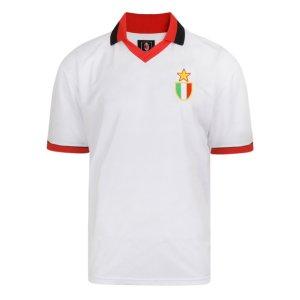 Score Draw AC Milan 1994 European Cup Final Retro Football Shirt