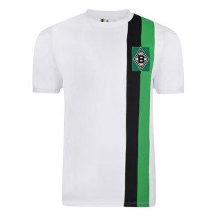 Score Draw Borussia Moenchengladbach 1972 Retro Football Shirt