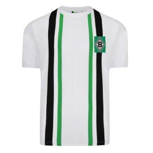 Score Draw Borussia Moenchengladbach 1974 Retro Football Shirt