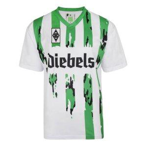 Score Draw Borussia Moenchengladbach 1995 Pokal Finale Retro Football Shirt