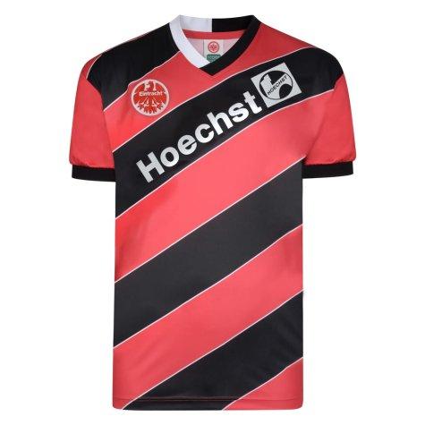Score Draw Eintracht Frankfurt 1988 Retro Football Shirt