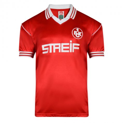 Score Draw Kaiserslautern 1980 Retro Football Shirt
