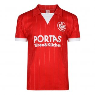 Score Draw Kaiserslautern 1983 Retro Football Shirt
