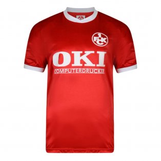 Score Draw Kaiserslautern 1991 Retro Football Shirt
