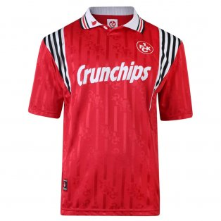 Score Draw Kaiserslautern 1998 Retro Football Shirt