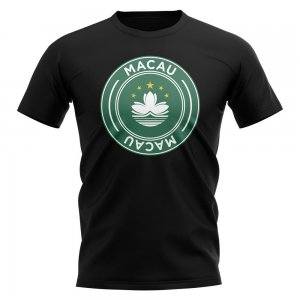 Macau Football Badge T-Shirt (Black)