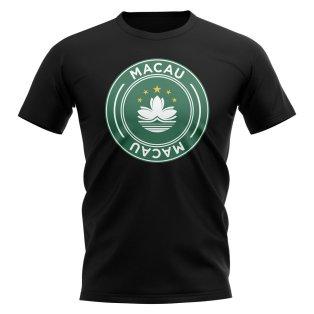 Macau Football Badge T-Shirt (Black)