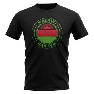 Malawi Football Badge T-Shirt (Black)