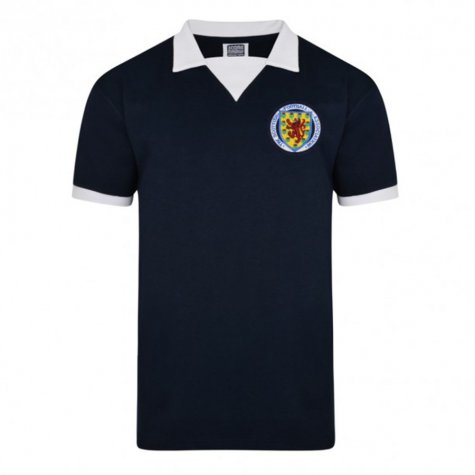 Score Draw Scotland 1974 World Cup Finals Retro Football Shirt