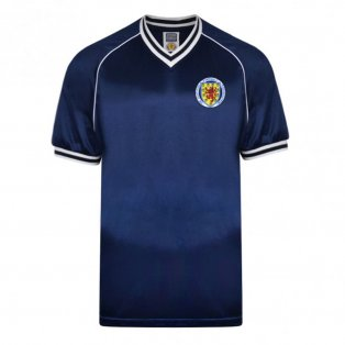Score Draw Scotland 1982 Retro Football Shirt