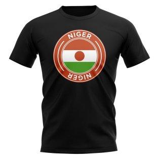 Niger Football Badge T-Shirt (Black)