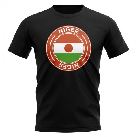 Niger Football Badge T-Shirt (Black)
