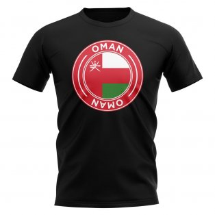 Oman Football Badge T-Shirt (Back)