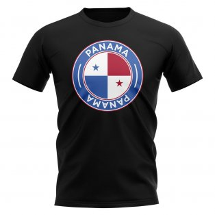 Panama Football Badge T-Shirt (Black)