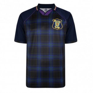 Score Draw Scotland 1996 Euro Championship Retro Football Shirt