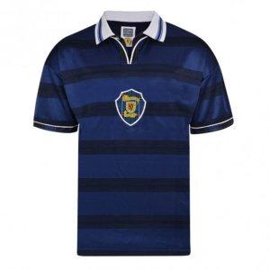 Score Draw Scotland 1998 World Cup Finals Retro Football Shirt