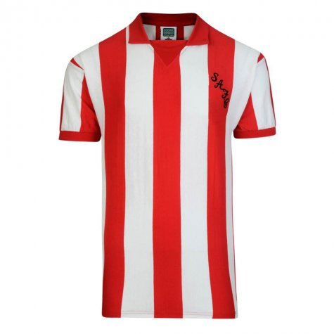 Score Draw Sunderland 1973 Retro Football Shirt