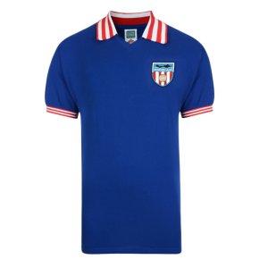Score Draw Sunderland 1978 Away Retro Football Shirt